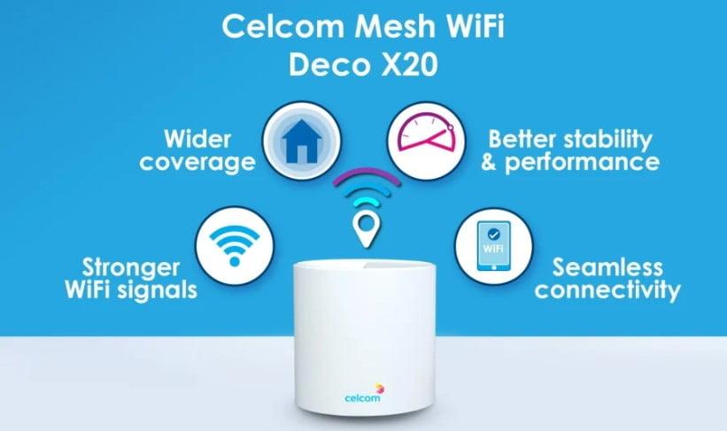 Celcom Mesh Wi-Fi Deco X2