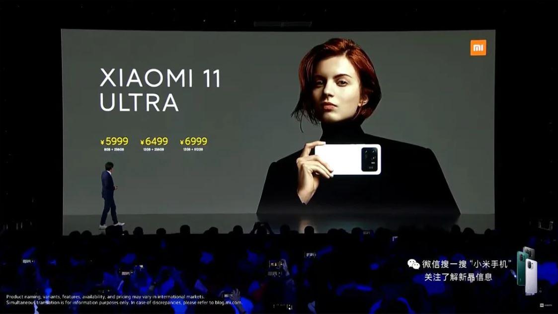 Harga Xiaomi Mi 11 Ultra dan Pro