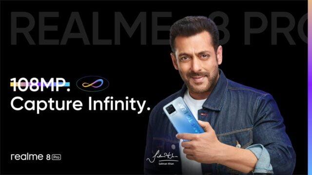 Realme 8 Pro dilancarkan Salman Khan