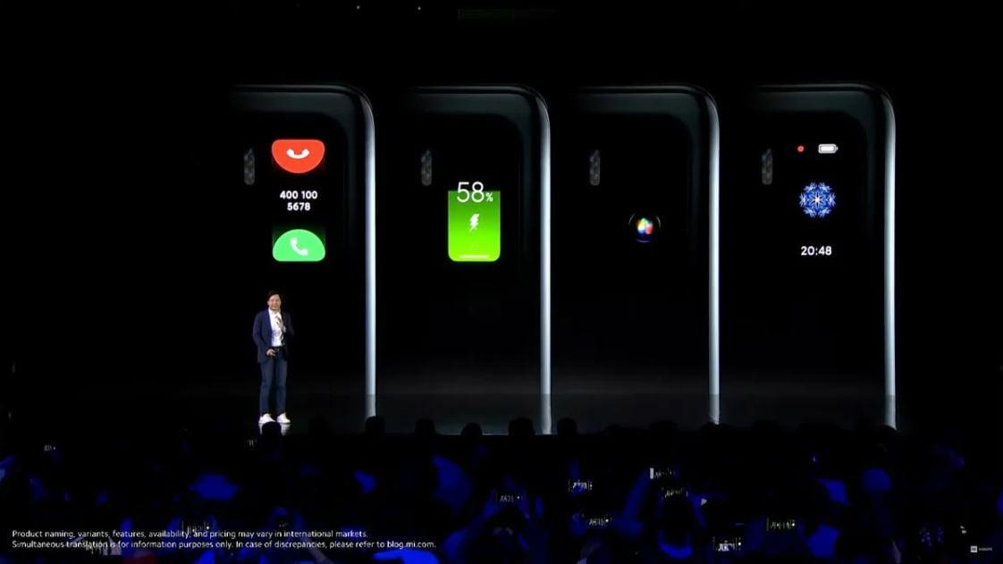 Xiaomi Mi 11 Secondary Display