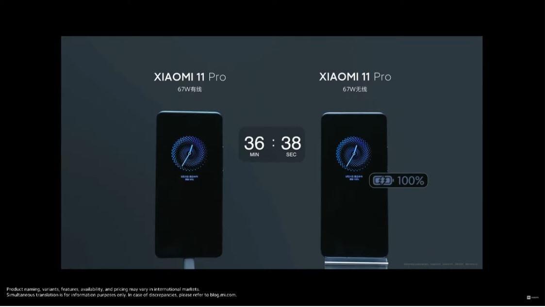 Xiaomi Mi 11 Ultra vs Pro