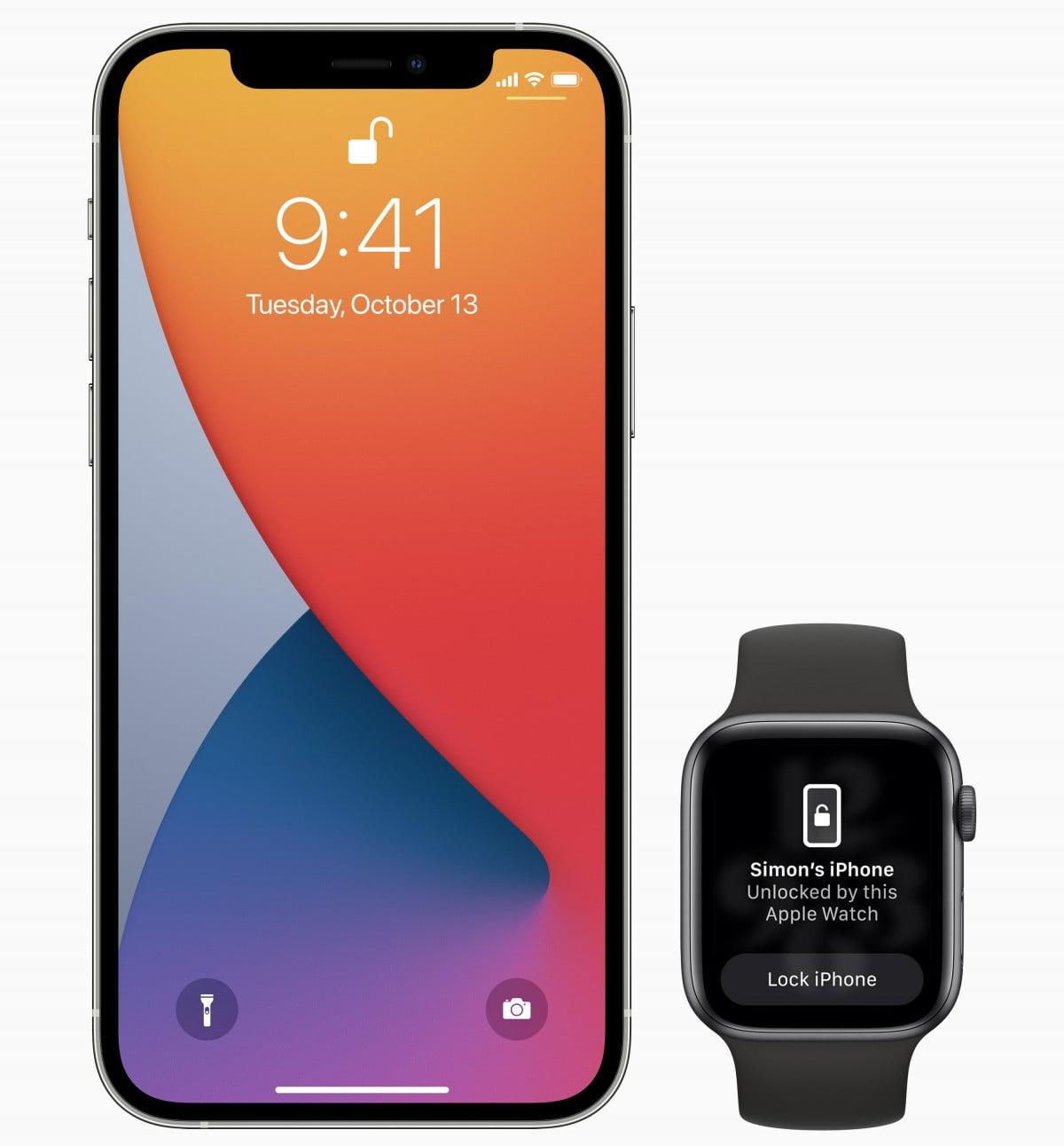 Apple iOS 14-5 watch Unlock