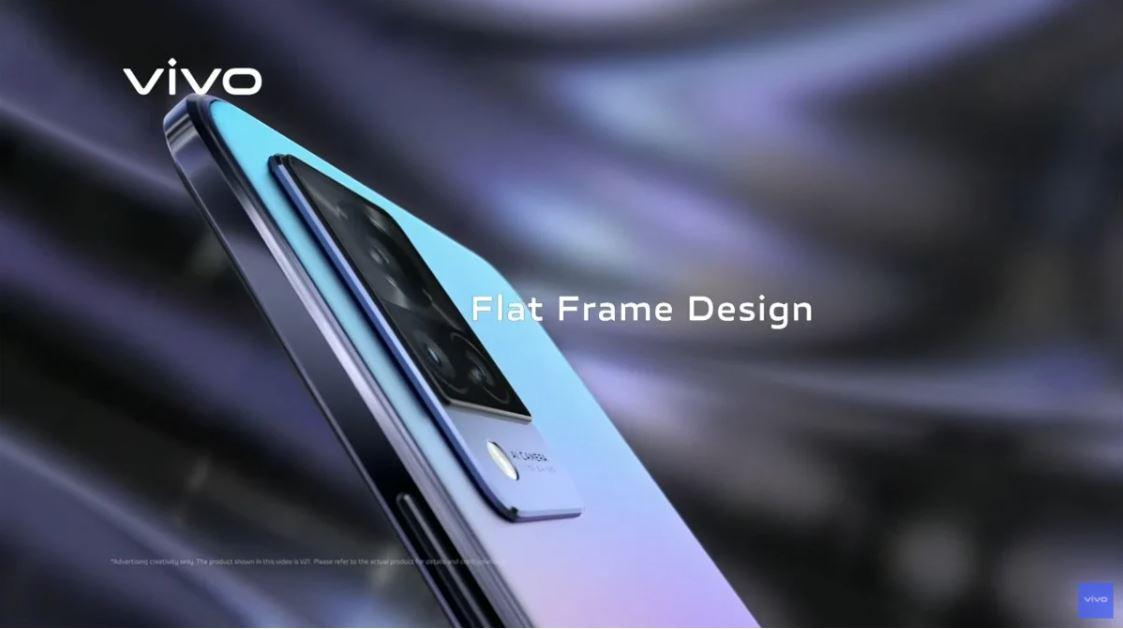 Vivo V21 Flat Desing