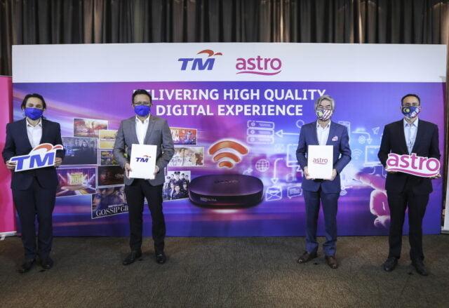Astro dan TM Penyedia Internet
